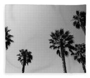 Wind In The Palms- By Linda Woods Fleece Blanket