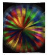 Wind Spinner 4 Fleece Blanket