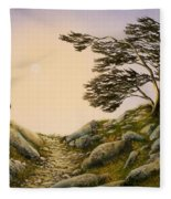 Windblown Warriors Fleece Blanket