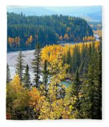 Winding Creek Fleece Blanket