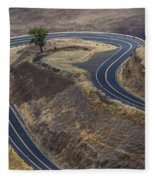 Winding Road Fleece Blanket