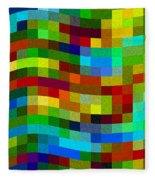 Winding Wall Fleece Blanket