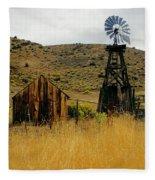 Windmill 2 Fleece Blanket