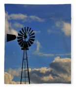 Windmill Fleece Blanket