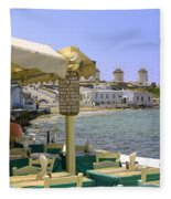 Windmill View Fleece Blanket