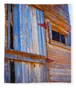 Window 3 Fleece Blanket