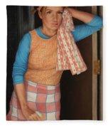 Window Cleaner Fleece Blanket