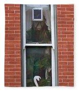 Window Dressing Fleece Blanket