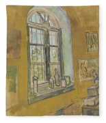 Window In The Studio Saint-remy-de-provence, September - October 1889 Vincent Van Gogh 1853 - 1890 Fleece Blanket