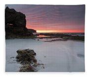 Window On Dawn Fleece Blanket