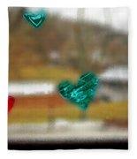Window Stickers Fleece Blanket