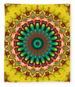 Window To Soul No. 6 Fleece Blanket