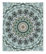 Window To The World Mandala Fleece Blanket
