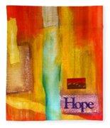 Windows Of Hope Fleece Blanket