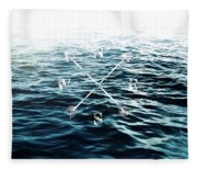 Winds Of The Sea Fleece Blanket