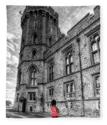 Windsor Castle Coldstream Guard Fleece Blanket
