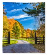 Windstone Farm Fleece Blanket