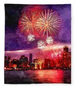 Windy City Fleece Blanket