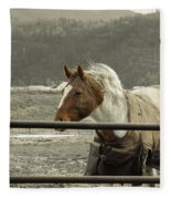 Windy In Mane Fleece Blanket
