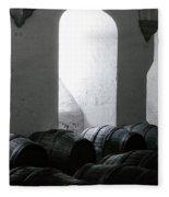 Wine Cellar Fleece Blanket