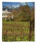 Wine Country California 1 Fleece Blanket