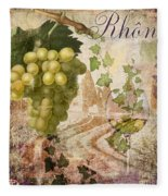 Wine Country Rhone Fleece Blanket