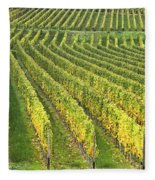 Wine Growing Fleece Blanket