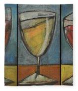Wine Trio - Option One Fleece Blanket