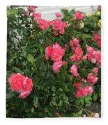 Winery Roses  Fleece Blanket