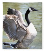 Wing Flapping Fleece Blanket