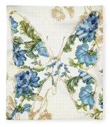 Winged Tapestry Iv Fleece Blanket