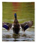 Winging It Fleece Blanket