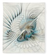 Wings Of An Angel Fleece Blanket