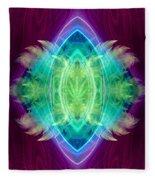 Wings Of Consciousness Fleece Blanket