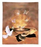 Wings Of Magic Fleece Blanket