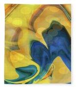 Wings Of The Dove Fleece Blanket