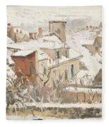 Winter, 1872  Fleece Blanket