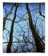Winter Birch Fleece Blanket