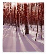 Winter Bling Fleece Blanket