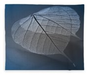 Winter Blues Fleece Blanket