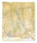 Winter Born Fleece Blanket