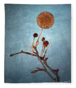 Winter Branch Fleece Blanket