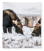 Winter Buddies Fleece Blanket