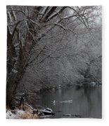 Winter Calm Fleece Blanket