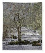 Winter Colors On The Klawock Fleece Blanket