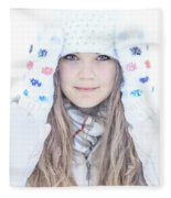 Winter Dreams Fleece Blanket