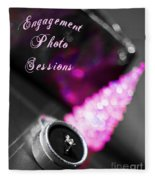 Winter Engagement V2 Fleece Blanket