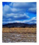 Winter Field Fleece Blanket
