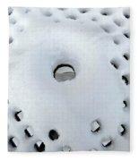 Winter Filigree Fleece Blanket