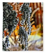 Winter Glow Fleece Blanket